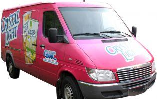 Full coverage Sprinter Van Vehicle Graphics