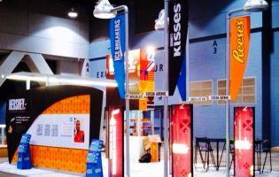 Hershey's Custom Rental Exhibit