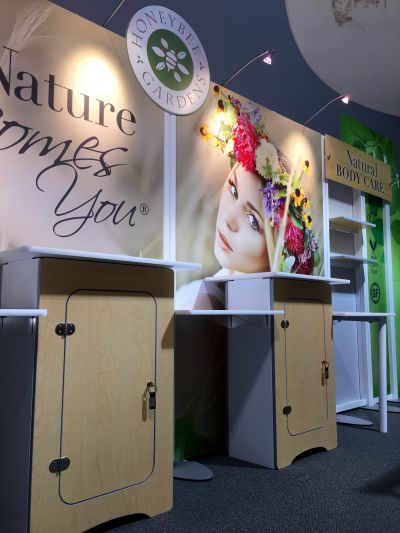 Trade Show Exhibit at Natural Products West Expo