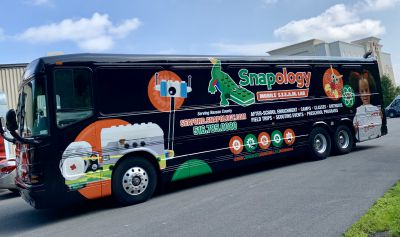 Mobile Marketing with a Charter Bus Conversion