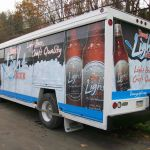 Beverage Truck Vehicle Wraps