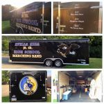 School Trailers and Organization Van graphics