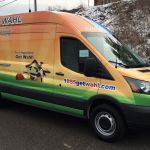 Sprinter Van Graphics HVAC Plumbing Vans