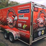 School District Van and Trailer Graphics