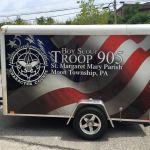 Boy Scout and Special Event trailer Graphics