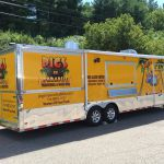 Food truck and Food Trailer Concessions Graphics and Wraps