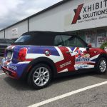 Custom Mini Cooper and Union Jack Graphics