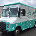 Mobile Vintage Food Trucks and Donut Vehicle Wraps
