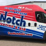 Plumbing and HVAC Fleet Vehicle Graphics