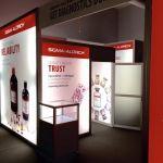 20x20 Rental custom island exhibit display