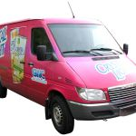 Full coverage Sprinter Van Vehicle Graphics