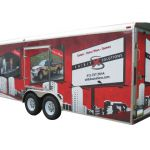 Full Coverage Vehicle Trailer and Landscape Trailer Vehicle Graphics
