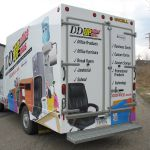 Full Coverage Delivery Vehicle Graphics