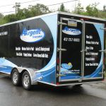 Full Coverage Service Trailer and Utility Trailer Vehicle Graphics
