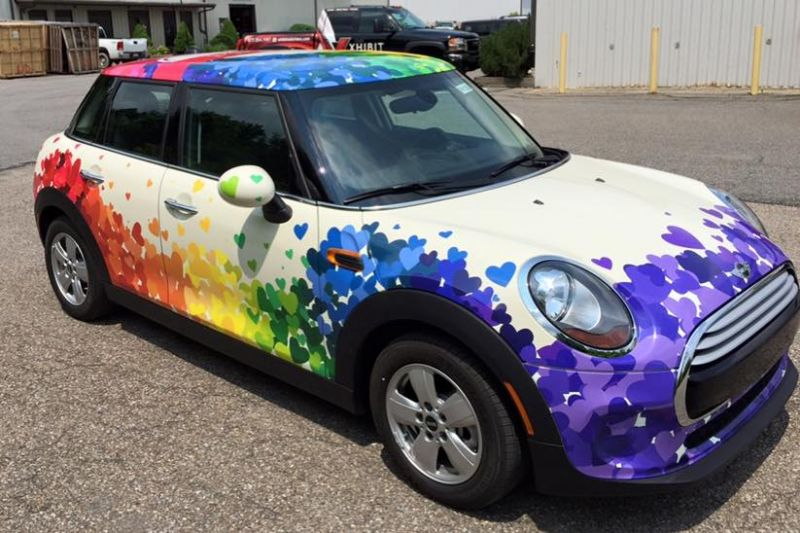 Xhibit Solutions Pittsburgh Vehicle Wraps Vehicle